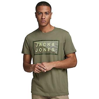 Jack & Jones Mens Jcoshawn Korte Mouw Crew Neck T Shirt