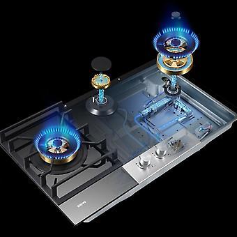 Gas Stove Three-eye Burner Stove Household Platform Double Burner Natural Gas