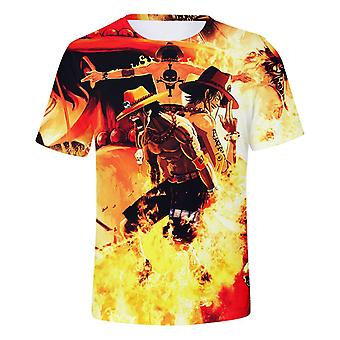 Anime One Piece Trend 3d Fashion Short Sleeve T-shirt