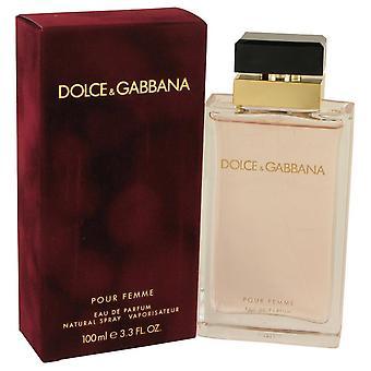 Dolce & Gabbana Pour Femme Eau De Parfum Spray By Dolce & Gabbana 3.4 oz Eau De Parfum Spray