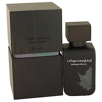Ambergris Showers Eau De Parfum Spray By Rasasi 2.5 oz Eau De Parfum Spray