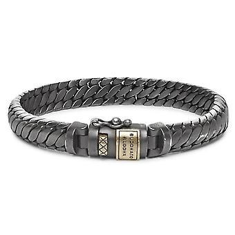 Buddha To Buddha J070BRG F Ben XS Black Rhodium Gold Size F Bracelet