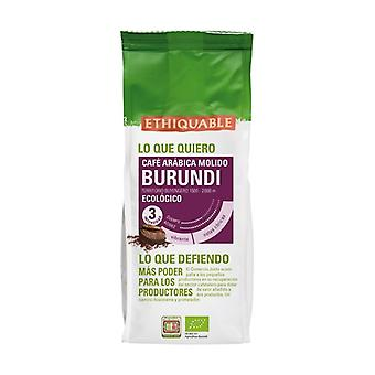 Premium burundi ground coffee 250 g of powder