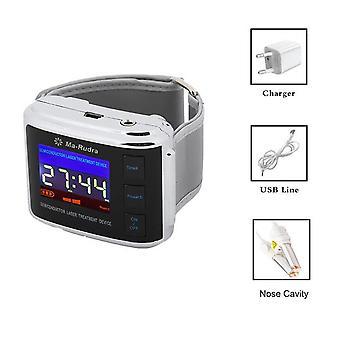 Dispositif d'aide au sommeil insomnie montre-bracelet pour le traitement de l'hypertension diabète regarder la sinusite laser cholestérol thérapeutique