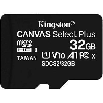 Wokex Canvas Select Plus microSD Speicherkarte, SDCS2/32GB-3P1A Klasse 10 (3x Karte,inkl. SD-Adapter)
