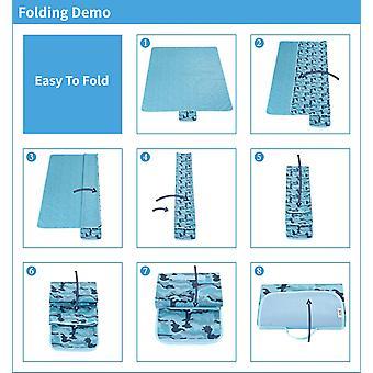Portable outdoor picnic mat beach mat waterproof camping  blanket yspm-52