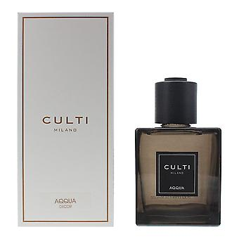 Culti Milano Decor Diffuser 500ml - Aqqua - Sticks Not Included In The Box