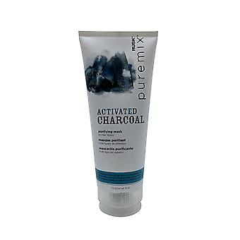 Rusk Pure Mix Activated Charcoal Purifying Mask All Hair Types 6 OZ