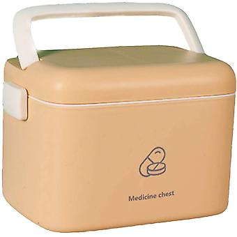 Medical Box Storage Box First Aid Kit-Family First Aid Box Portable Diagnostic Medicine Box
