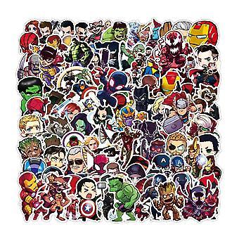 Cartoon Marvel Klistermærker, Cool The Avengers, Kid Legetøj.