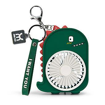 Dinosaur Backpack llavero bolsillo ventilador al aire libre ventilador llavero pequeños llaveros de ventilador para los niños gran regalo