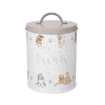 Wrendale diseños barril galleta lata