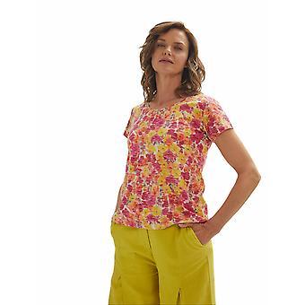 Shuuk Bloemenprint T-shirt