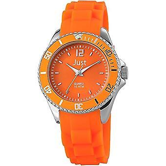 Just Watches 48-S3861-OR - Women's wristwatch, orange rubber strap