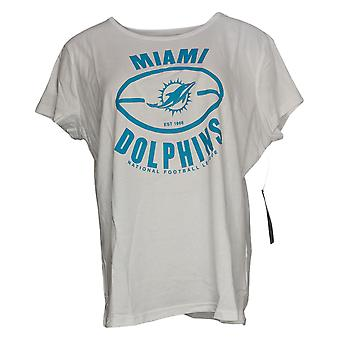 NFL Dames Top T-Shirt Met Korte Mouwen Wit A368422
