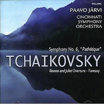 P.I. Tchaikovsky - Tchaikovsky: Symphony No. 6 Path Tique; Romeo and Juliet Fantasy Overture [CD] USA import
