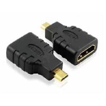 Ca (APPC19) HDMI til Micro HDMI Converter, Svart