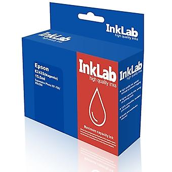 InkLab 2433 Epson Compatible Magenta Replacement Ink