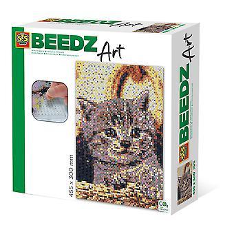 SES LUOVA Kissa Beedz Art Mosaic Kit