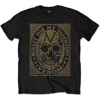 Bullet For My Valentine - Venom Skull Men's Medium T-Shirt - Black