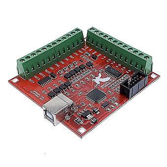 新しいブレイクアウトボードcnc usb mach3 100khz 4軸インタフェースドライバモーションコントローラSm42118
