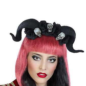 Headband 112377 Black Horns