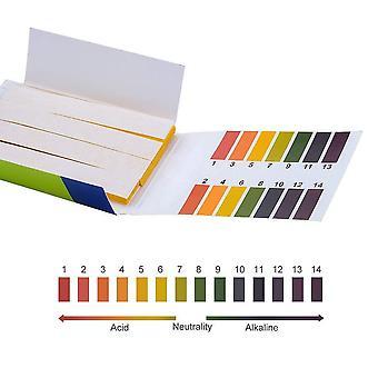 80 Strips/pack ph test strips full ph meter ph controller 1-14st indicator litmus tester paper water soilsting kit factory