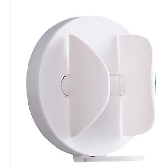 7.2cm Electric Toothbrush Holders Wall mounted Storage Rack for Bathroom (White)|Toothbrush Holders