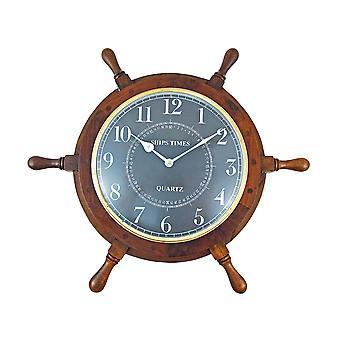 19 tuuman halkaisija meripeninkulman puisia aluksia Automiehen kello
