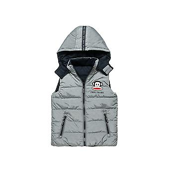 Alouette Boys' Paul Frank Reversible Vest-Jacket With Embroidery