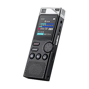 16G Profesionální diktafon HD Redukce šumu Hlas aktivovaný rekordér beze ztrát