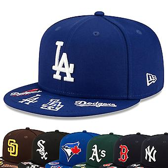 New Era 59Fifty Fitted Cap - GRAPHIC VISOR MLB Teams