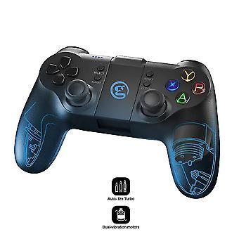אביזרי קונסולת משחק ניידים t1s Bluetooth 4.0 ו 2.4Ghz אלחוטי gamepad בקר משחק נייד עבור אנדרואיד / מחשב / קיטור