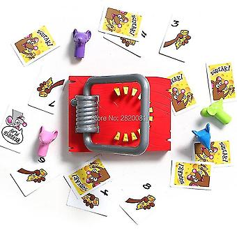 Pretend professions role playing mouse snatch cake grab your cheese with finger mice puzzle toys|gags practical jokes