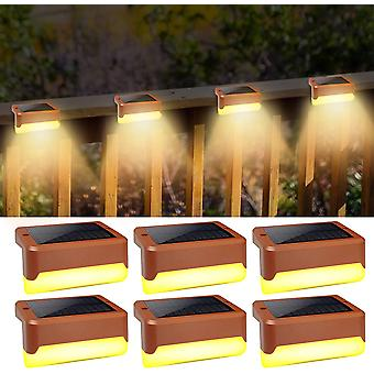 LED Solar Treppe Licht Zaun Wasserdicht geeignet für Außentreppengeländer