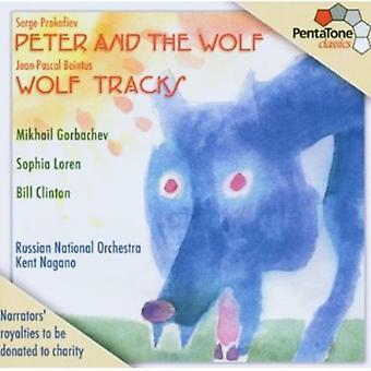 Prokofiev/Beintus - Serge Prokofiev: Peter and the Wolf; Jean-Pascal Beintus: Wolf Tracks [SACD] USA import
