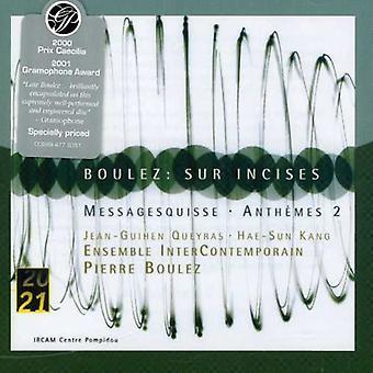 P. Boulez - Boulez: Sur Incises; Messagesquisse; Anth Mes 2 [CD] USA import
