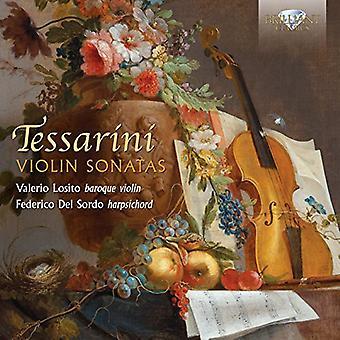 Tessarini/Losito/Del Sordo - violinsonater [CD] USA import