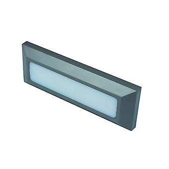 LED Robus Twilight 3W LED Rectangular Wall Light