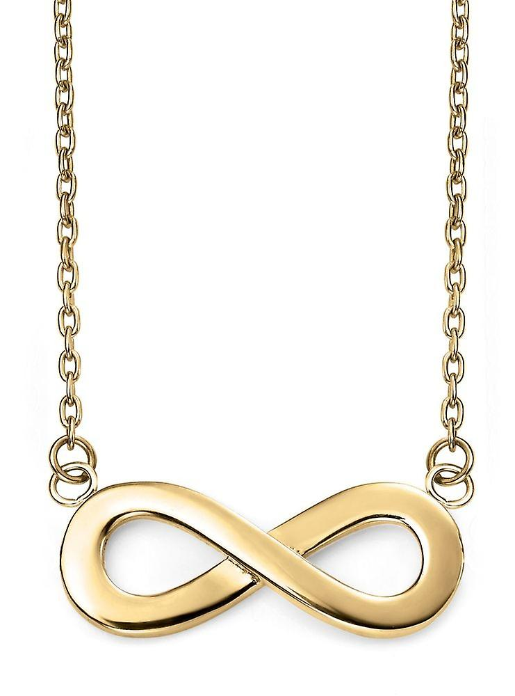 9 ct Gold Infinity Necklace
