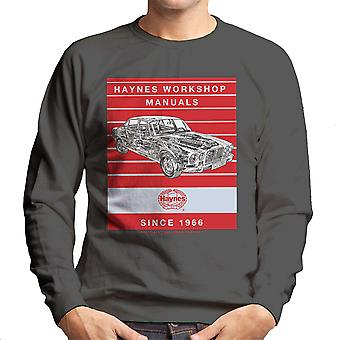 Haynes Workshop Manual 0242 Jaguar XJ6 Stripe Men's Sweatshirt