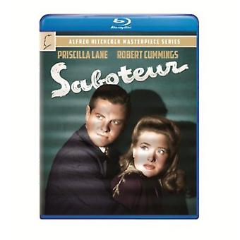 Alfred Hitchcock - Saboteur [BLU-RAY] USA import