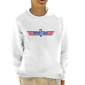 Top Gun Nakatomi Tower Die Hard Kid's Sweatshirt