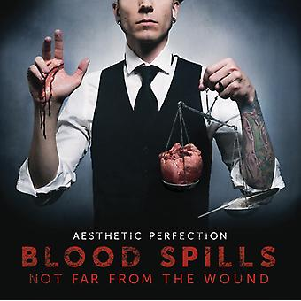 Aesthetic Perfection - Blood Spills Not Far From the Wound [CD] USA import