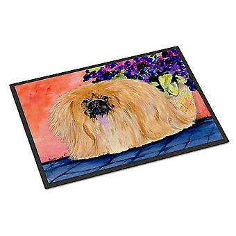 Carolines Treasures  SS8661MAT Pekingese Indoor Outdoor Mat 18x27 Doormat