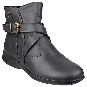 Cotswold Womens Shipton Leather Ankle Boot Cinza