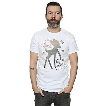 Disney mannen Bambi Winter herten T-Shirt