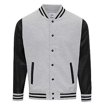 AWDis Hoods Mens Letterman Jacket