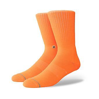 Holdning ikon Anthem Crew sokker i florescent orange