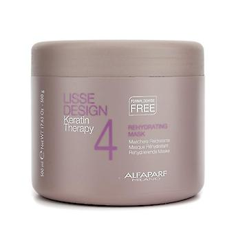 Alfaparf Lisse Design Keratin Therapy Rehydrating Mask (salon Size) - 500ml/17.63oz